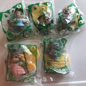 75th Ann. Wizard of Oz McDonalds Toys 2013 set new